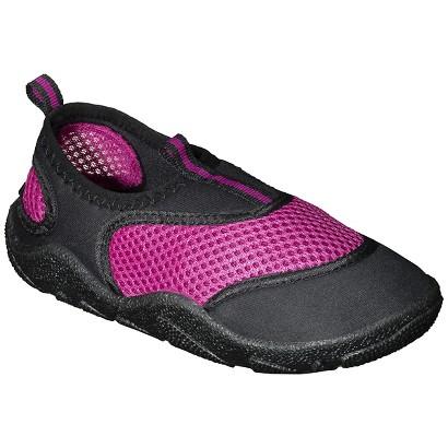 Girl's Aqua Water Shoe - Pink/Black