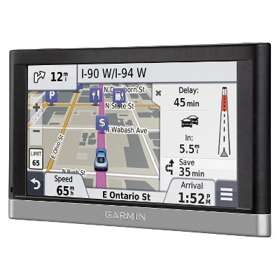ECOM Garmin nuvi 5-inch Portable GPS with Maps and Traffic Updates (NUVI2557LMT)