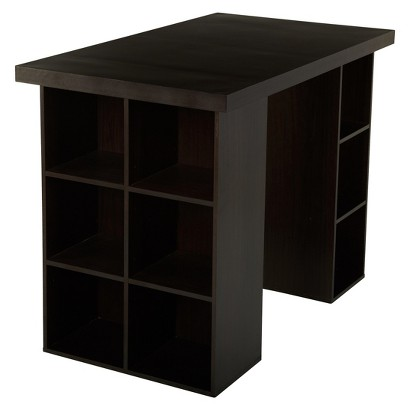 TMS Counter Height Craft Table - Espresso