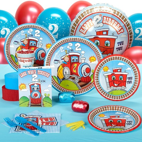 Two Two Train Standard Party Pack for 8