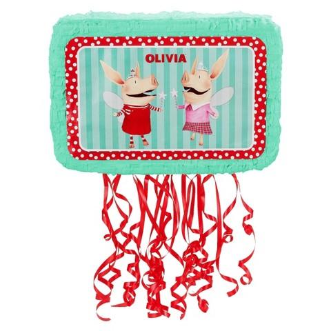 Olivia Birthday Party Pinata