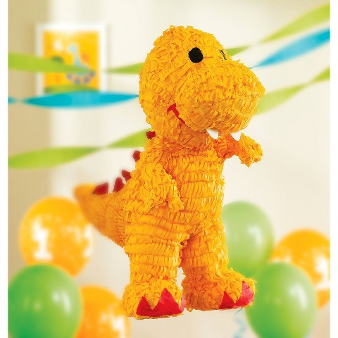 Little Dino Birthday Party Pinata