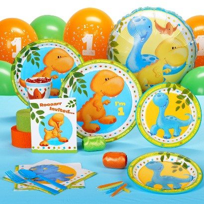 The Little Dino 1st Birthday Pack for 8