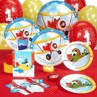 Airplane Adventure 1st Birthday Standard Party Pack for 16