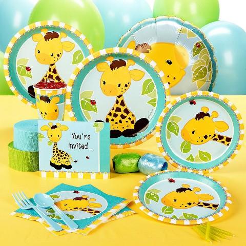 Giraffe Standard Party Pack for 8