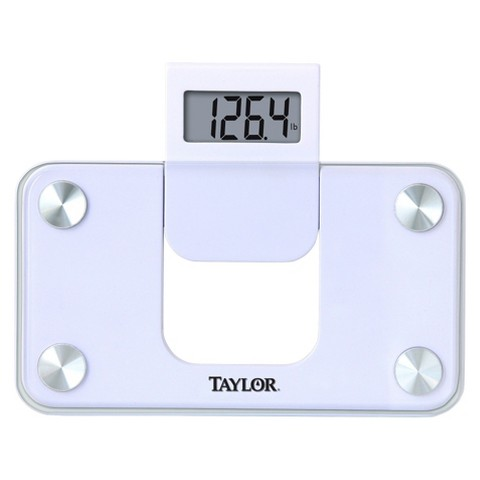 "Taylor Mini Digital Scale - White (9x5"")"