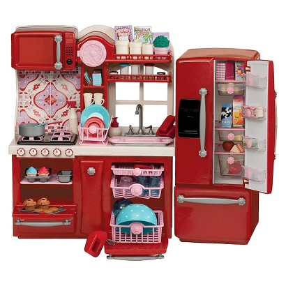 American Girl Doll Kitchen Set Target