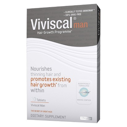 Viviscal Hair Growth Supplements for Men – 60  Count