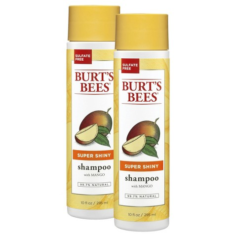 Burt's Bees Super Shiny Shampoo Set  - 2 Pack