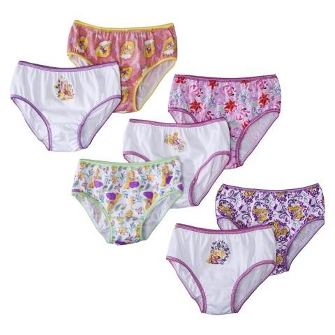 Disney® Toddler Girls' 7 Pack Tangled Briefs