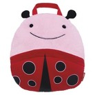 Skip Hop Zoo Toddler Travel Blanket with Pillow - Ladybug