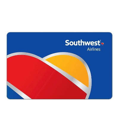 SOUTHWEST Airlines $50 Gift Card