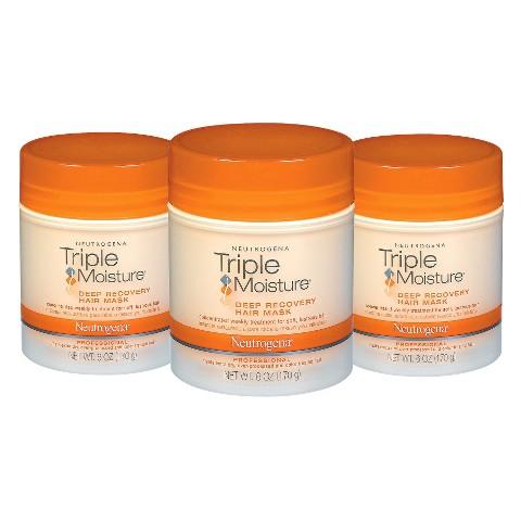 Neutrogena Triple Moisture Hair Mask Set - 3 Pack