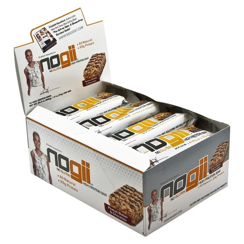 NoGii Peanut Butter and Chocolate Protein Bar - 12 Count