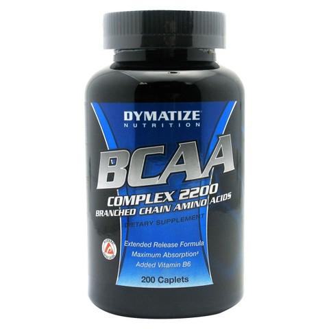 Dymatize Nutrition BCAA Caplets - 200 Count