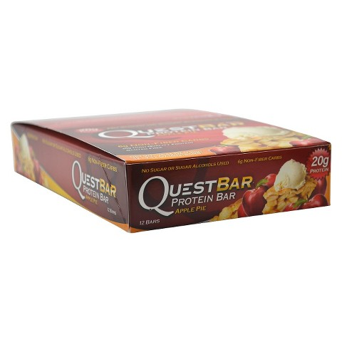 Quest Bar Apple Pie Protein Bar - 12 Count