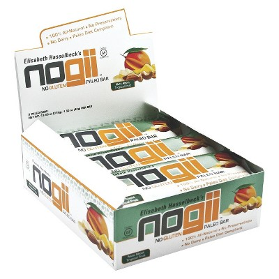 ECOM NoGii Nuts About Tropical Fruit Paleo Bar - 9 Bars
