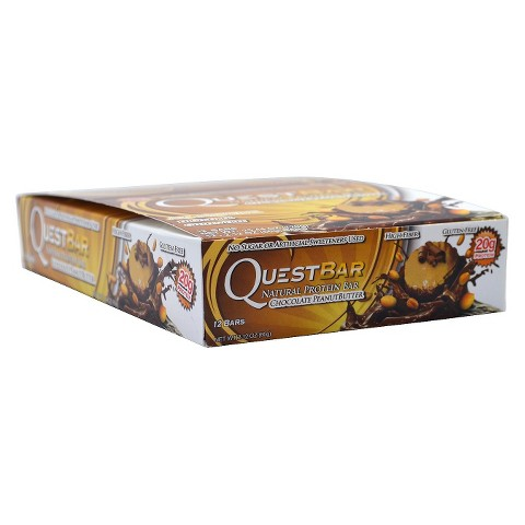 Quest Bar Chocolate Peanut Butter Protein Bar - 12 Count