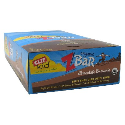 Clif Kid® Z Bar Chocolate Brownie Energy Snack - 18 Count