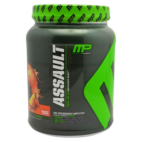 Muscle Pharm Assault Raspberry Lemonade Pre Performance Amplifier - 25.92 oz