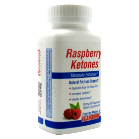 Raspberry Ketones Metabolic Enhancer Capsules - 60 Count
