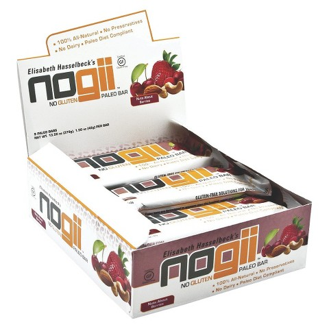 NoGii Nuts About Berries Paleo Bar - 9 Count