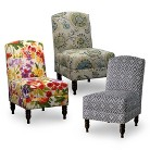Mallory Upholstered Armless Chair Collection