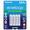 Panasonic eneloop AAA New 2100 cycle Ni-MH Pre-Charged Rechargeable Batteries - 8AAA