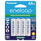 Panasonic eneloop New 2100 cycle Ni-MH Pre-Charged Rechargeable Batteries - 4AA