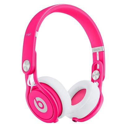 Beats by Dre Mixr Headphones - Neon Pink