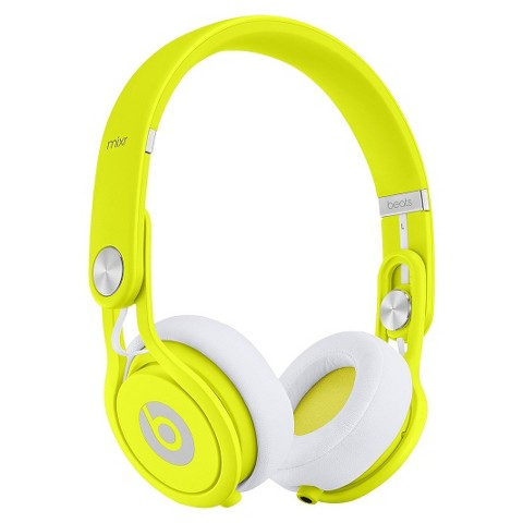 Beats by Dre Mixr Headphones - Neon Yellow