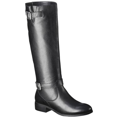 Women's Mossimo Supply Co. Rylee Genuine Leather Tall Boot