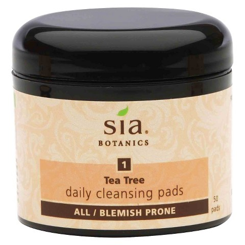 Sia® Botanics Daily Cleansing Pads - Tea Tree (50 Count)