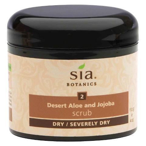 Sia® Botanics Desert Aloe and Jojoba Body Scrub - 4 oz