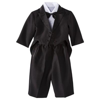 Infant Boys' Authentic Tux with Tails - Black 6-9 M