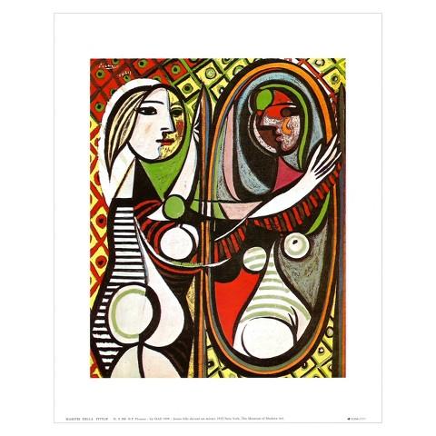 Art.com - Girl Before a Mirror