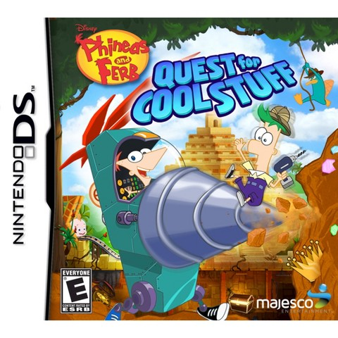 Phineas and Ferb: Quest for Cool Stuff (Nintendo DS)