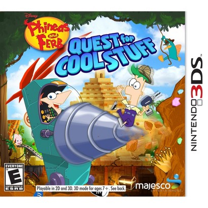 Phineas and Ferb: Quest for Cool Stuff (Nintendo 3DS)