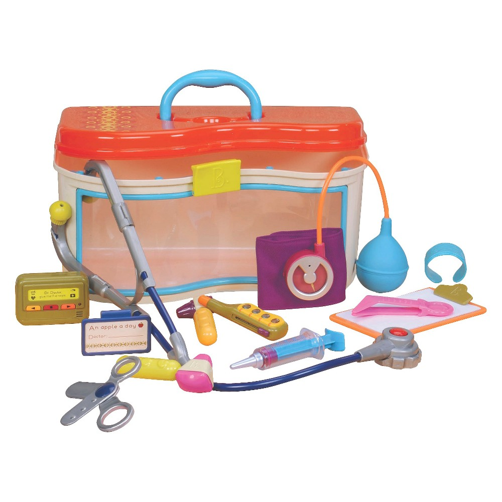 B. Critter Clinic, Toy Occupation Playsets