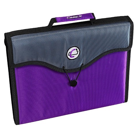 Case•it 13 Pocket Tabbed File Folder