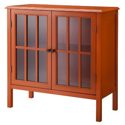 Windham Storage Cabinet - Orange - Threshold™