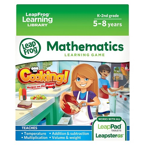 LeapFrog® Learning Game: Cooking! Recipes on the Road (for LeapPad® Tablets and LeapsterGS)
