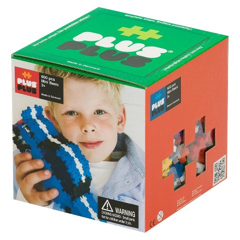 Plus Plus Basic Building Set (600 Pieces)