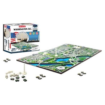 4D™ Cityscape The City of Washington D.C. Skyline Time Puzzle