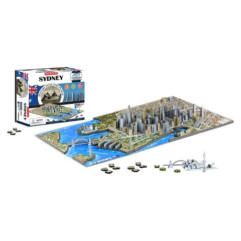 4D™ Cityscape The City of Sydney Time Puzzle