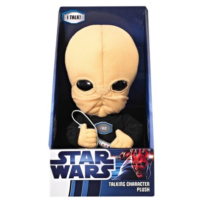 "STAR WARS™ Underground Toys Talking Cantina Band Character Plush Toy (9"")"