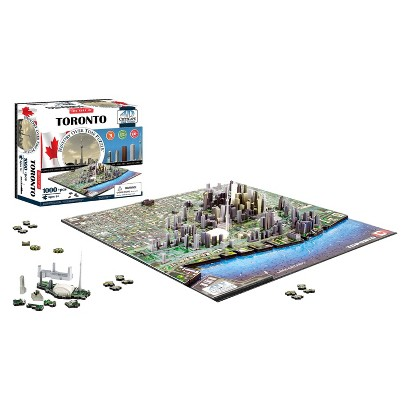 4D™ Cityscape The City of Toronto Time Puzzle