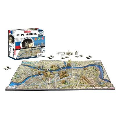 4D™ Cityscape The City of Saint Petersburg Time Puzzle