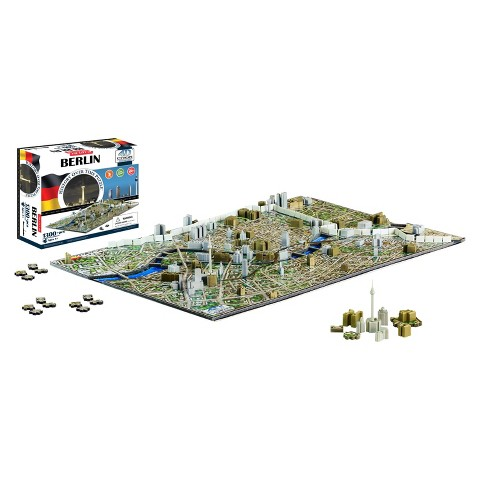 4D™ Cityscape The City of Berlin Time Puzzle