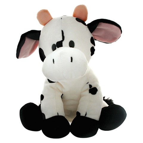 R&R Games Hide & Seek Safari Junior Cow Plush Toy